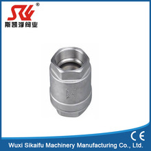 wholesale stainless steel 316 threaded Vertical Lift Check Valve dn200 ,8inch