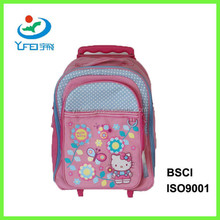 YF-SC015 Ultra-functional 600D Polyester Trolley Backpack