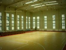 Plastic/pp interlock basketball and multi court flooring