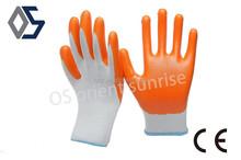 13 gauge polyester nitrile coated work gloves