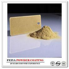2014 hot sale metallic gold powder coating paint