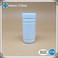 170cc pharmaceutical use bottle 170ml 6oz HDPE round plastic bottel