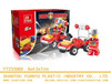 toy plastic fire trucks building block bricks construct toy diy model toys for ages 6