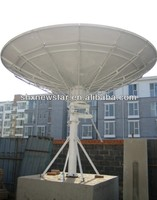 3.7m auto positioning satellite antenna