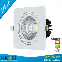 High Quality CRI90 Adjustable 38w SAA Approved COB Led Down Light 150mm Hole Size Shenzhen Factory
