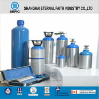 Made In China Wholesale Small Portable Aluminum Gas Bottles