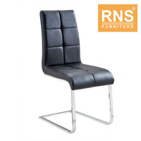 RNS Brushed Stainless Steel Dining Chair C625S