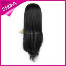Color #1 Light Yaki Silk Top Full Lace Malaysian Natural Hair Wig