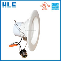 """UL/ES approved 6"""" 20w dimmable led downlight E26/GU24 no flicker led downlight"""