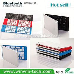 Promotion wholesale pocket size bluetooth keyboard
