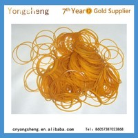 rubber band raw material/ yellow rubber bands