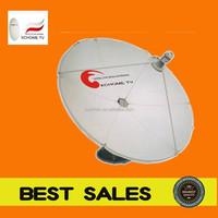 c band 150cm big parabolic satellite tv dish antenna