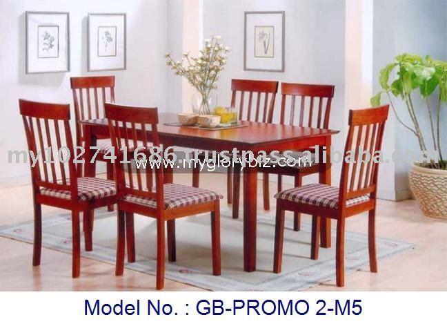 Madera muebles para el hogar parson conjunto uphosterly for Modelos de comedores