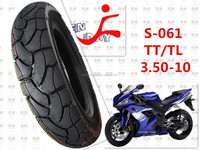3.50-10 tubeless motor scooter tyre/tire
