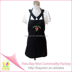 New 2015 high quality 100% linen printing cotton apron / promotional apron / cooking aprons