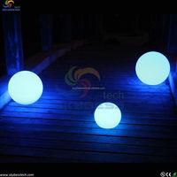 RGB color change solar glow balls led floating pool decorations balls of light for pool/rgb led balls/led floating ball