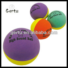 2015 super hollow rubber bouncing balls