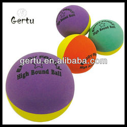2015 super hollow rubber bouncing balls