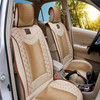 car accessories full set universal auto leather seat cover with diamond stitching