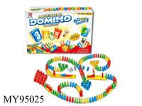Beautiful colored plastic dominoes plastic domino set domino tiles plastic