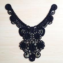 garment accessories sequins crochet cotton neckline designs for tailors