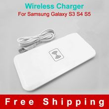 White Qi Wireless Charger Transmitter Charging Pad for Samsung S6 S5 S4 NOTE2 iPhone Lumia 920 smart phone