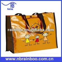 New design eco-friendly recycled pp woven plastic tote bag for promotion