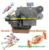 2015 Manufacturer High speed Automatic Double Twist Candy Packing Machine