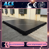 ACS Trade Show Stage, Wedding Stage, Fashion concert stage with Rail