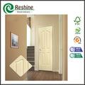 interior hdf moldeado puerta de madera blanca de diseño