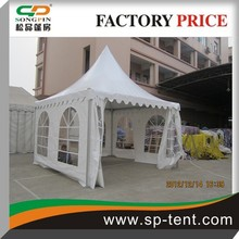 5m Medium size pagoda tent with double PVC coated