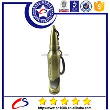 Zinc alloy spinning bullet shape keychain, Metal key chain