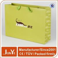 daily shopping custom print paper bags for handbags wholesale uk