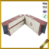 fashional side gusset aluminum laminated foil pouch with one way valve