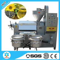 Hot sale Screw type sunflower oil mill project