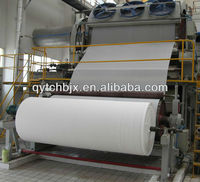 Tai chang787mm 1-2ton per day newspaper making machine