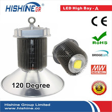 220w bridgelux chips 200w led high bay lights/ 200w meanwell driver led high bay light/ workshop warehouses high bay lamp