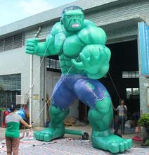 2015 new elaborate design Giant inflatable hulk ,inflatable hulk model for advertising