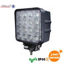 Fornecedor de fábrica 5 polegada 48 W LED trabalho leve CE no pára choque Bar compactador HD93048