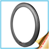 2015 Carbon Rim Clincher for Road Bike 700c, Wide Aero V Shape 60mm Clincher Rims With Free Shipping