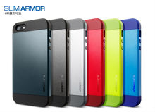 13 Colors For iphone 5s Spigen Slim Armor Mobile Phone Cover Case/For iphone 5s original Case
