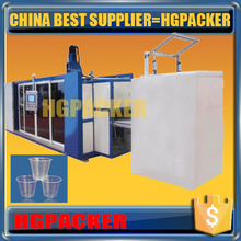 700mm sheet pp ps gpps hips disposable plastic tea cup making machine
