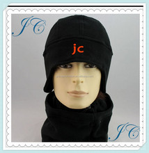 Black Warm Ski Winter hat and cover the ear promotional winter knitted caps and hats