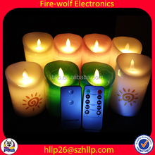 Fashion Candle Manufacturer Tealight Candle Led Christmas Lights Candle