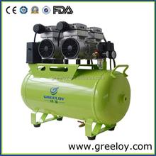 Dental air compressor 50litres oilless for dental school