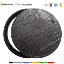Hot selling round smc composite septic tank manhole cover with good quality by China