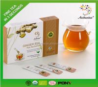 Chinese Best Herbal Tea Authentea Ginger Tea Powder