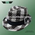 2014 nuevo diseño a medida hecho a mano de acrílico tela triiby sombreros