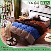 new design gradient color warm cotton winter patchwork quilt
