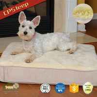 Square High Quality OEM Beautiful pet bed for dogs